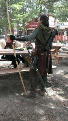 In late June I wore my full ranger kit to the Colorado Renaissance Festival to test it out for an upcoming three-day primitive hike/camping trip I had p. Ranger Kit, as of June 2015
