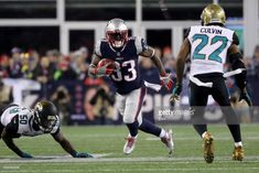 News Photo   Dion Lewis of the New England Patriots carries... Nfl 2017 5762bdb5f530d