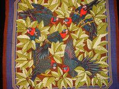 homage to Audubon's Carolina parakeets