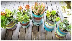 Espaço para troca de ideias sobre reciclagem, jardinagem e decoração. Utilização de materiais recicláveis em diversas utilidades.