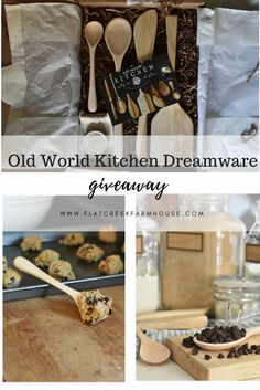 Enter this amazing giveaway. Open Nov 18 - Nov 25 Old World Kitchen Dreamware Collection Giveaway
