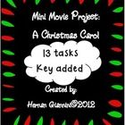 This is a mini movie project based on the movie: A Christmas Carol interpreted by Jim Carrey, an American humor actor. This mini project contains 1...