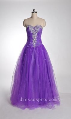 purple masquerade ball gown