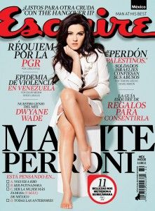 Maite Perroni Revista Esquire1 221x300 Maite Perroni appears in the cover of the Esquire Magazine