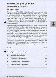 C1-14 - Gyertek lányok játszani! - Angela Lakatos - Picasa Webalbumok Kindergarten, Album, Personalized Items, Picasa, Kindergartens, Preschool, Preschools, Pre K, Kindergarten Center Management