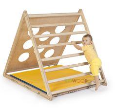 Деревянный домик Треугольник - спортивные и игровые уголки Kidwood