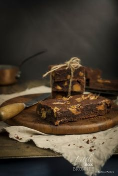 Little Box Brownie: Whittakers Peanut Butter Chocolate and Caramel Brownie