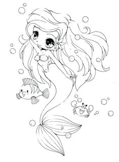 Cute Mermaid Coloring Pages . Cute Mermaid Coloring Pages . Coloring Ideas the Little Mermaid Coloring Pages Free to Chibi Coloring Pages, Mermaid Coloring Pages, Princess Coloring Pages, Cute Coloring Pages, Coloring Pages For Girls, Coloring Pages To Print, Animal Coloring Pages, Printable Coloring Pages, Coloring Books