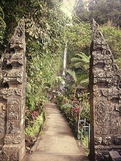 The Door, Gitgit Waterfall, Bali www.rudisbalitours.com