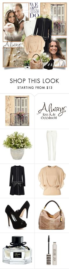 """""""Kate Middleton"""" by chris101287 ❤ liked on Polyvore featuring Shabby Chic, Nearly Natural, R13, RED Valentino, Etro, Michael Kors, Gucci, Topshop, Lucky Brand and love"""