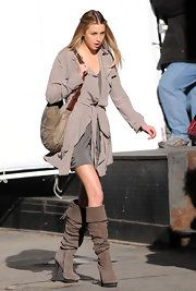 Whitney Port Knee High Boots