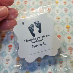 Tags de nascimento do Bernardo
