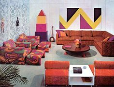 1970's....dig the chairs