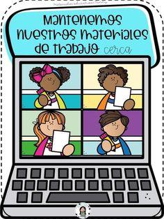 Classroom Rules, School Classroom, Flashcards For Kids, Rules For Kids, Schedule Cards, School Images, Virtual Class, Retro Cartoons, Teacher Organization
