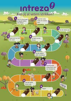 Leer veters strikken! Infographic 'Kun jij al je veters strikken?' Occupational Therapy, Diy For Kids, Things To Do, Homeschool, Stage, Workshop, Tips, Activities, Education