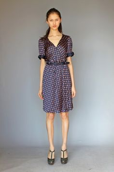 1eff5827e3f9 Hi There From Karen Walker Available March 2012 Exclusively at  Anthropologie Dress With Bow