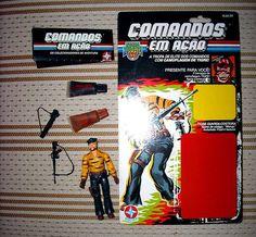 """Brazilian exclusive Comandos em Ação / GI Joe """"Marujo"""" (1990)"""