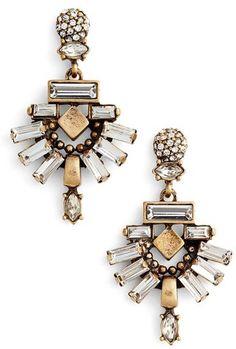 Women's Treasure&bond Crystal Drop Earrings