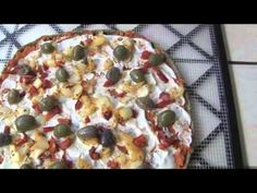 Pizzas vivas crudivegetarianas - YouTube