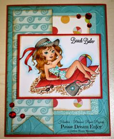 For PDE Linky Party #12 ~ Beach/Ocean