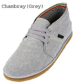 Bob Marley Pipeline Chukka Casual Mens Shoes