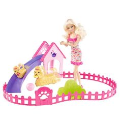 """Barbie Puppy Play Park Doll And Playset - Mattel - Toys """"R"""" Us"""