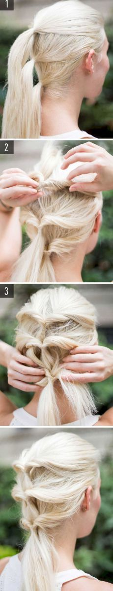 05 Five Minute Gorgeous and Easy Hairstyle