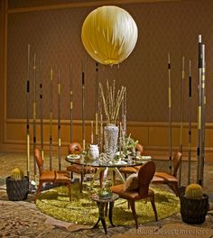 Tableau 2012 - Elevated Desert Design Fantasy table to benefit Ryan House  #TableDecorating #RyanHouse #BlueDesertInteriors #ChrisJagmin