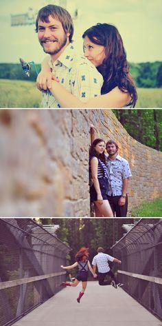 Last picture engagement photo idea