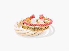 Diana twisted bracelets stack