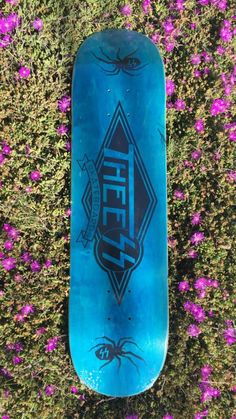 685ff855c9 Used blue and black Thee skateboard deck for sale in Redondo Beach - letgo  Skateboard Decks