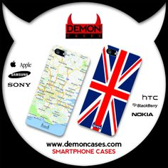 Smartphone Cases www.demoncases.com