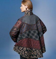 koos van den akker patterns   Vogue 1277 coat pattern   Designer: Koos van den Akker ※