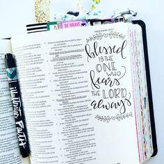 Bible Journaling by @elli.s_heart