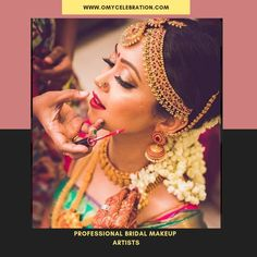 O My Celebration offers you with professional bridal makeup artists having great exposure in this field. By visiting our website, you can get a list of authorized professionals known to give you a feminine look you always wished for.