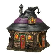 Dept 56 Department 56 4025341 Snow Village Halloween from Department 56 Hilda's Witch Haunt Lit House, 7.1-Inch at Sears.com