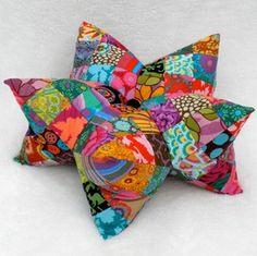 3-D Star shaped pillow