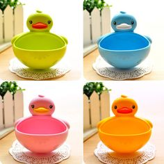 Cute Soap Dish and Toothbrush Holder Suction