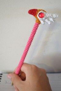 Cardcaptor Sakura Wand and Pen by Miahandcrafter http://www.miahandcrafter.com/atelier/cardcaptor-sakura-wand-and-pen/