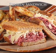 A classic sandwich made with corned beef, dark rye bread, Swiss cheese, sauerkraut, with Russian dressing – grilled. These sandwiches are really delicious and easy to make.