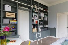 Build A Closet, Custom Furniture, Closets, Tiny House, Architecture Design, Bookcase, Villa, Shelves, House Design