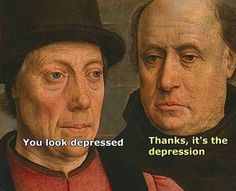 """15 Classical Art Memes For The Modern Pupil - Funny memes that """"GET IT"""" and want you to too. Get the latest funniest memes and keep up what is going on in the meme-o-sphere. Renaissance Memes, Medieval Memes, Classical Art Memes, Bipolar Memes, Art History Memes, Art Jokes, Art Puns, Old Memes, Humor Grafico"""