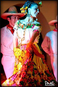 XV aniversario del ballet folklorico de la universidad de Mérida, Yucatán (UADY) - Tabasco