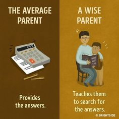 Being a parent will always be the hardest job. 11 Crucial Differences Between the Average Parent and the Wise Parent Kids And Parenting, Parenting Hacks, Parenting Plan, Parenting Quotes, Message For Mother, Parents, Christian Pictures, Raising Kids, Kids Education