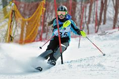 Charlie Jourdain - Le Relais - Regroupement provincial U12 - Sutton - ©Michel Guillemette Michel, Courses, Skiing, Ski