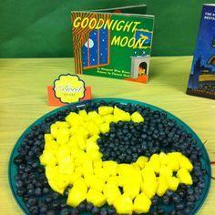 Goodnight moon fruit platter