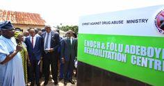 Drug Abuse Rehabilitation Centre, Christ Against Drug Abuse Ministry Opened By RCCG