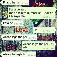 Fake Love Chating..In Whatsapp All 198 Imeges... www.ashiqlove.weebly.com