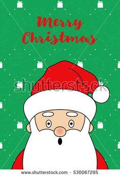 Santa Is Coming By AllaRiShop  Vector Illustrations