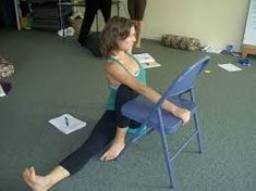86 best iyengar yoga chair standing poses images on